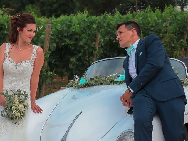 Le mariage de Romain et Mélisande à Restinclières, Hérault 59