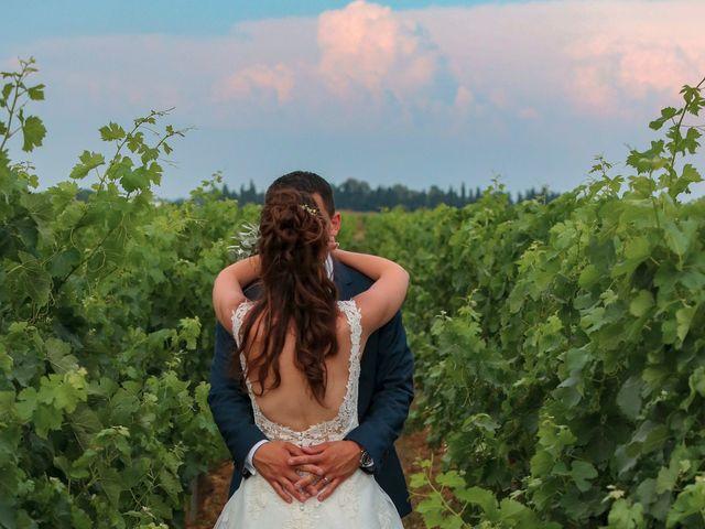 Le mariage de Romain et Mélisande à Restinclières, Hérault 61