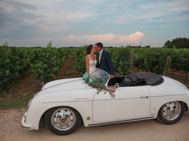 Le mariage de Romain et Mélisande à Restinclières, Hérault 69