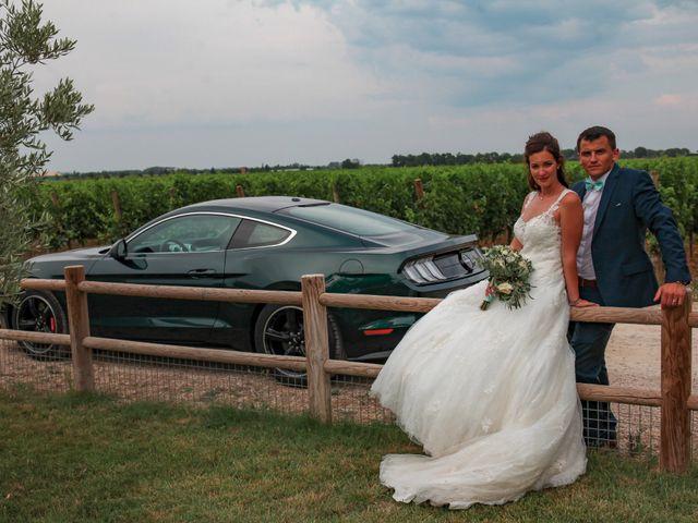 Le mariage de Romain et Mélisande à Restinclières, Hérault 75