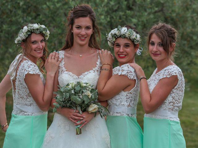 Le mariage de Romain et Mélisande à Restinclières, Hérault 78