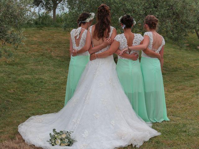 Le mariage de Romain et Mélisande à Restinclières, Hérault 80