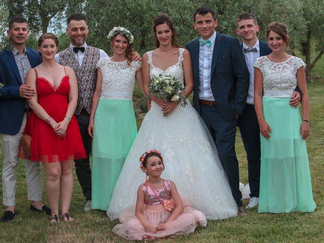 Le mariage de Romain et Mélisande à Restinclières, Hérault 84