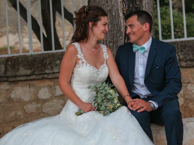 Le mariage de Romain et Mélisande à Restinclières, Hérault 89