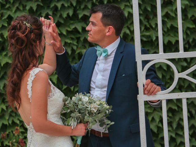 Le mariage de Romain et Mélisande à Restinclières, Hérault 90