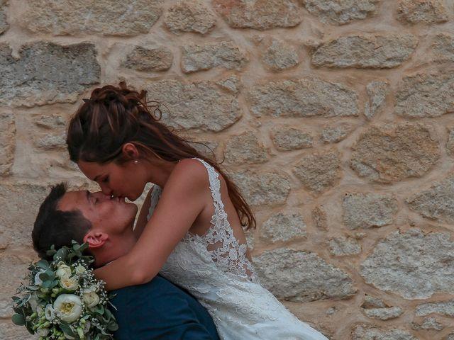 Le mariage de Romain et Mélisande à Restinclières, Hérault 92