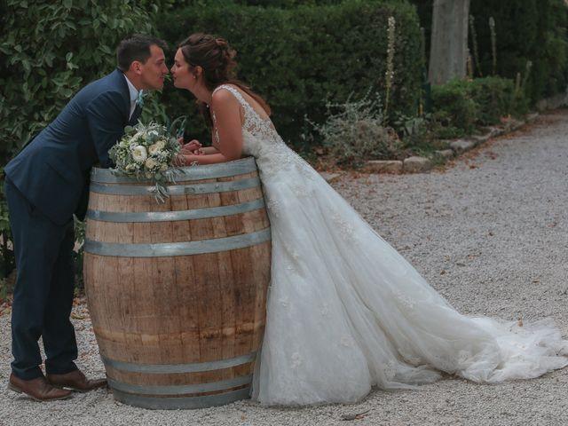 Le mariage de Romain et Mélisande à Restinclières, Hérault 94