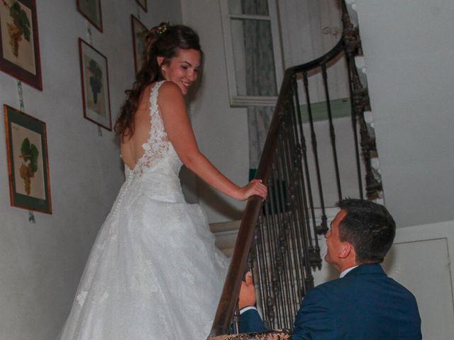 Le mariage de Romain et Mélisande à Restinclières, Hérault 95
