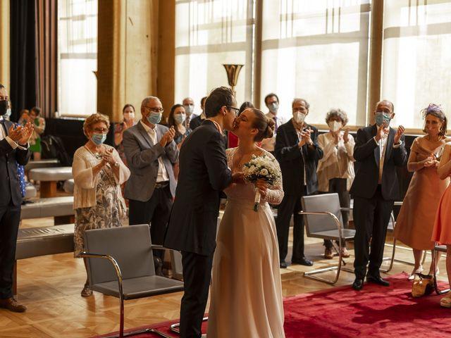 Le mariage de Julien et Camille à Paris, Paris 2