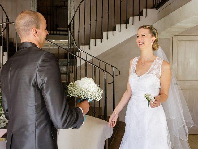 Le mariage de Guillaume et Elodie à Saint-Lizier-du-Planté , Gers 31