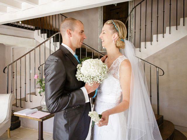Le mariage de Guillaume et Elodie à Saint-Lizier-du-Planté , Gers 32