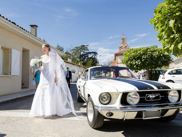 Le mariage de Guillaume et Elodie à Saint-Lizier-du-Planté , Gers 35