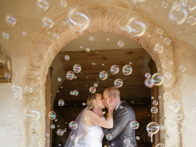 Le mariage de Guillaume et Elodie à Saint-Lizier-du-Planté , Gers 46