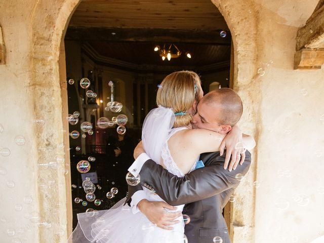 Le mariage de Guillaume et Elodie à Saint-Lizier-du-Planté , Gers 47