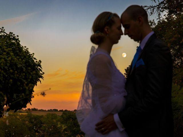 Le mariage de Guillaume et Elodie à Saint-Lizier-du-Planté , Gers 56