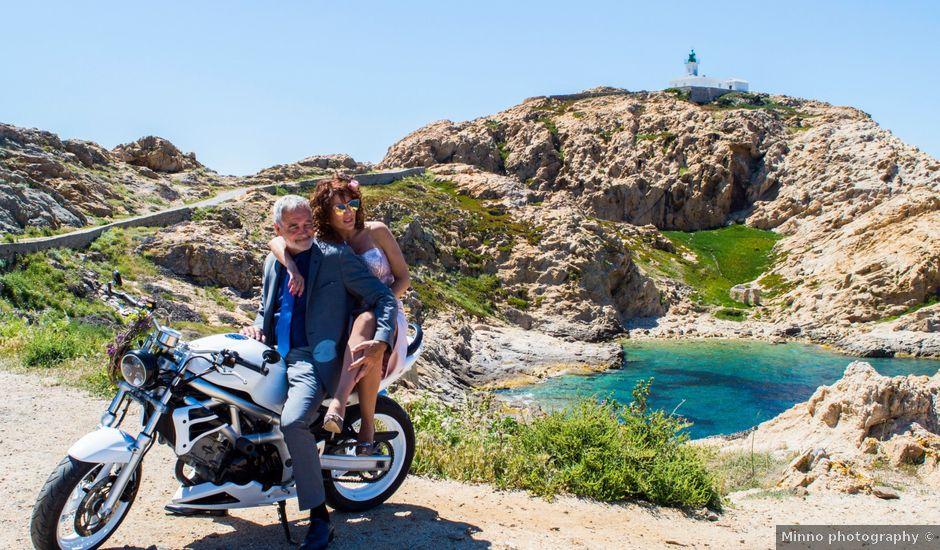 Le mariage de Gilles et Virginie à L'Île-Rousse, Corse