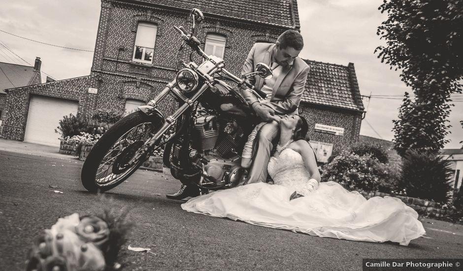 Le mariage de Thomas et Nathalie à Esnes, Nord