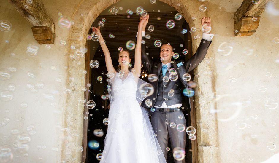Le mariage de Guillaume et Elodie à Saint-Lizier-du-Planté , Gers