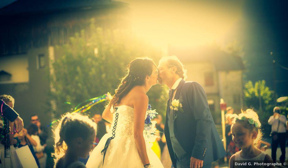 Le mariage de Cédric et Gaelle à Le Pontet, Savoie