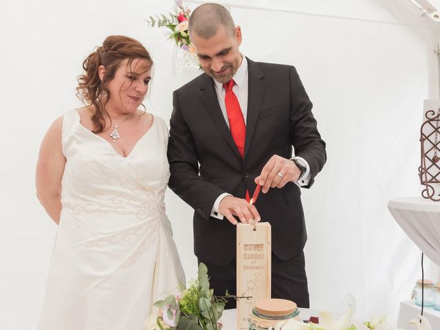 Le mariage de Sabine et Christophe