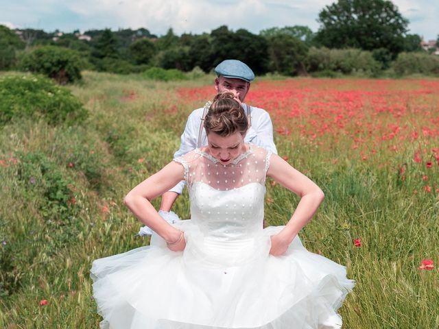 Le mariage de Jean et Elodie à Uzès, Gard 10