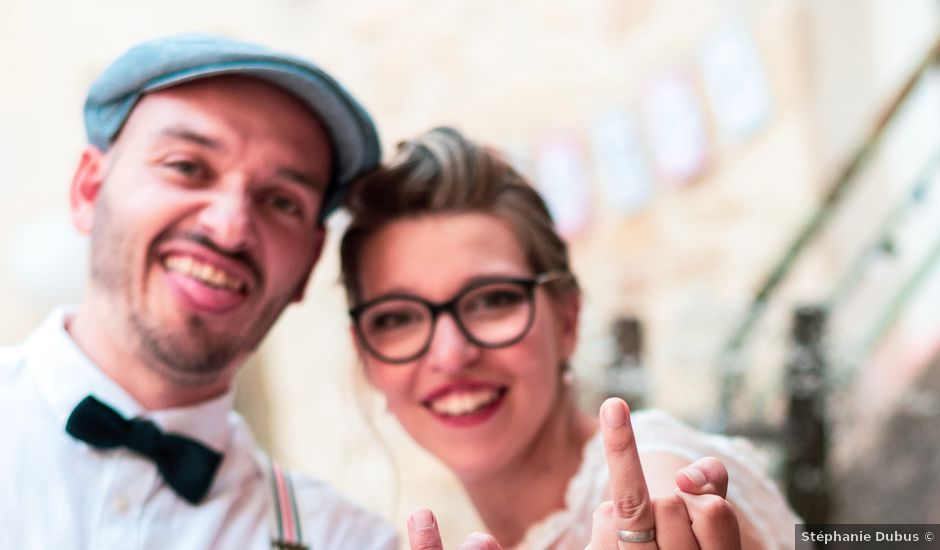 Le mariage de Jean et Elodie à Uzès, Gard