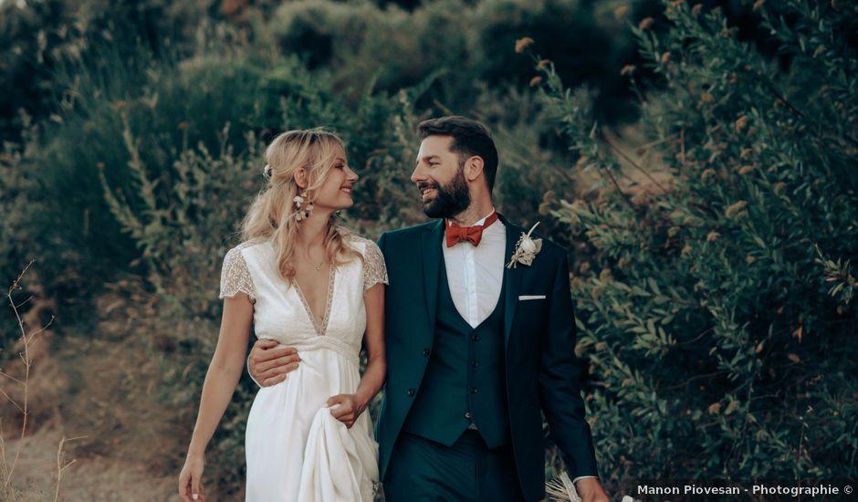 Le mariage de Bruno et Maëlle à Quarante, Hérault