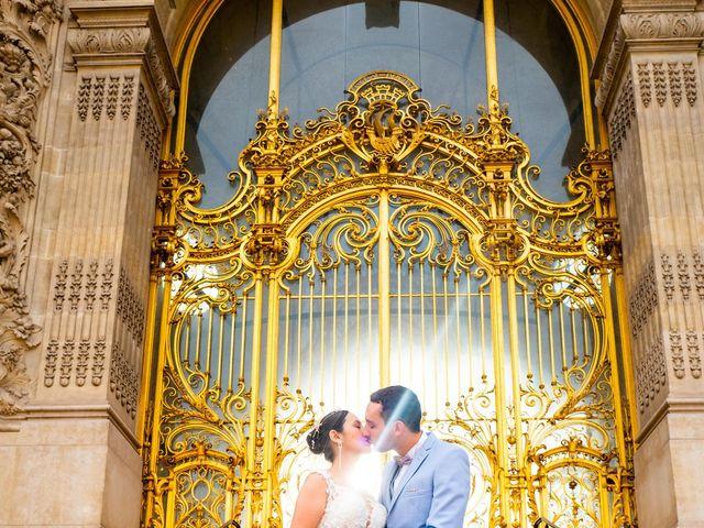 Le mariage de Alexandre et Rabeb à Paris, Paris 3