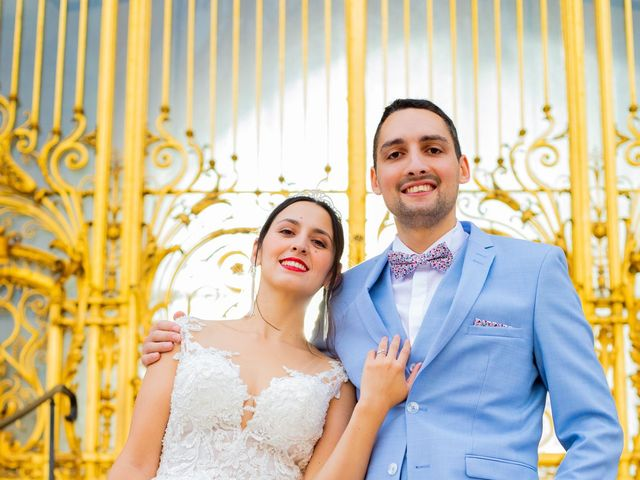 Le mariage de Alexandre et Rabeb à Paris, Paris 9