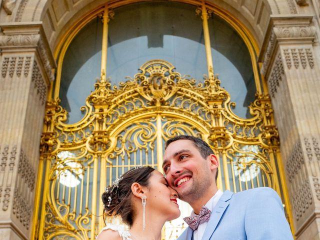 Le mariage de Alexandre et Rabeb à Paris, Paris 11