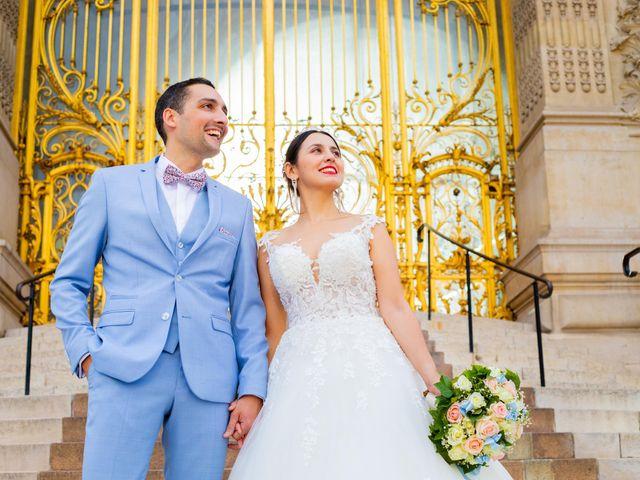 Le mariage de Alexandre et Rabeb à Paris, Paris 14