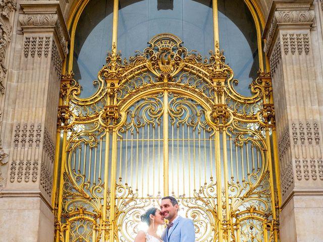 Le mariage de Alexandre et Rabeb à Paris, Paris 15