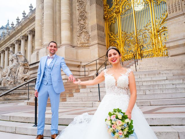 Le mariage de Alexandre et Rabeb à Paris, Paris 16