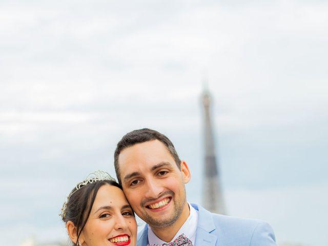 Le mariage de Alexandre et Rabeb à Paris, Paris 18