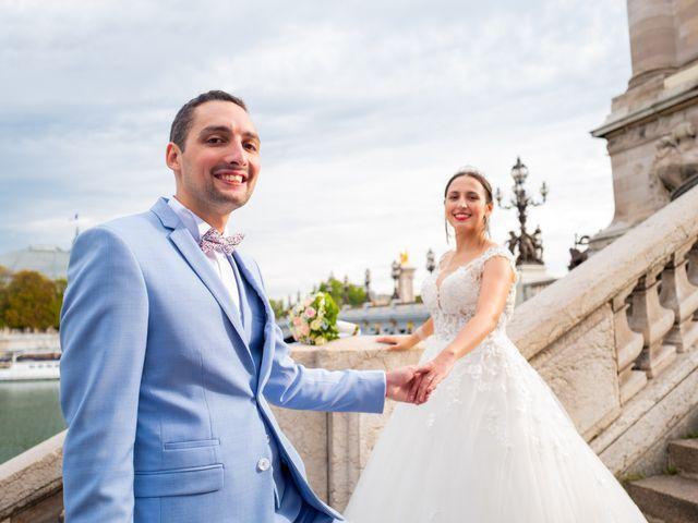 Le mariage de Alexandre et Rabeb à Paris, Paris 21