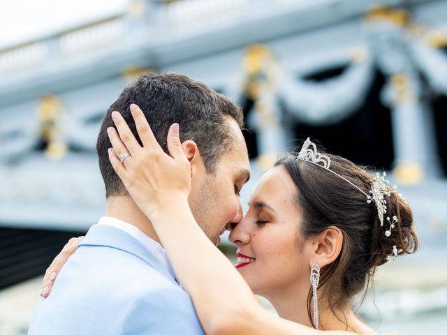 Le mariage de Alexandre et Rabeb à Paris, Paris 28