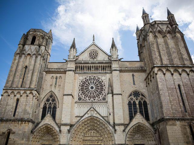 Le mariage de Gwilherm et Albane à Poitiers, Vienne 1