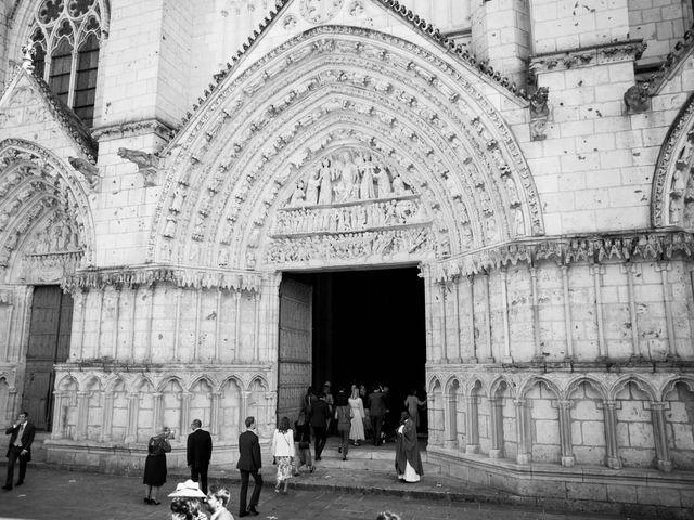 Le mariage de Gwilherm et Albane à Poitiers, Vienne 2