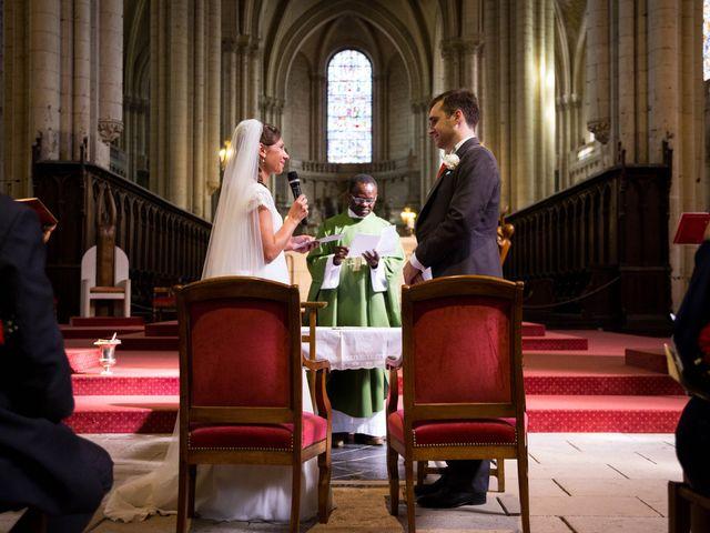 Le mariage de Gwilherm et Albane à Poitiers, Vienne 33