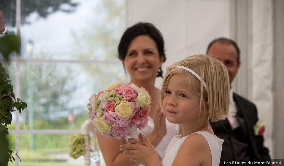 Le mariage de Christophe et Caroline à Cornier, Haute-Savoie