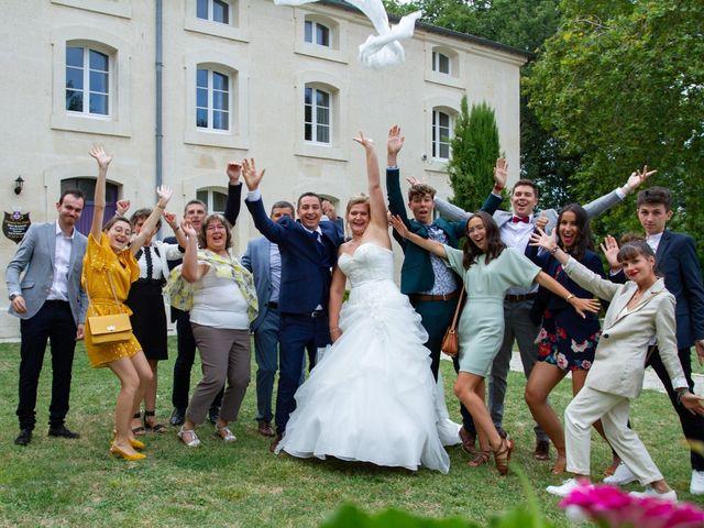 Le mariage de Guillaume et Melanie à Thénac, Charente Maritime 41