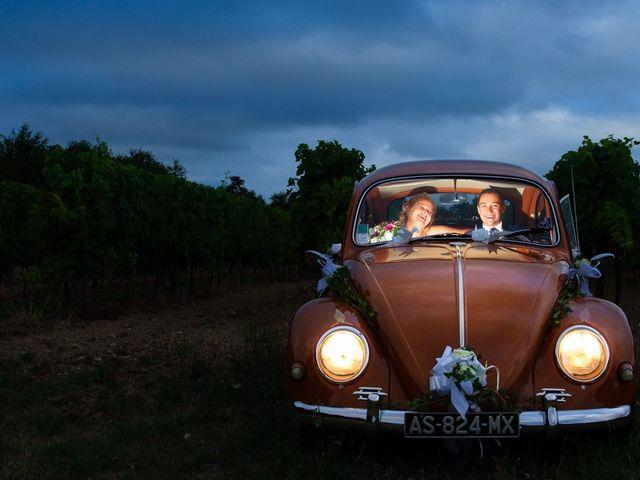 Le mariage de Guillaume et Melanie à Thénac, Charente Maritime 45