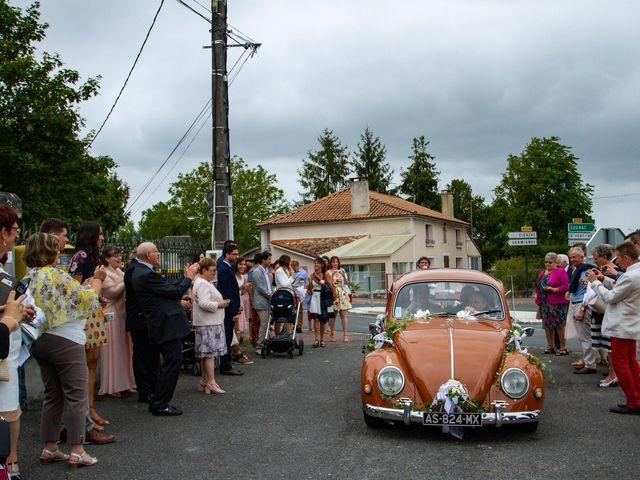 Le mariage de Guillaume et Melanie à Thénac, Charente Maritime 20