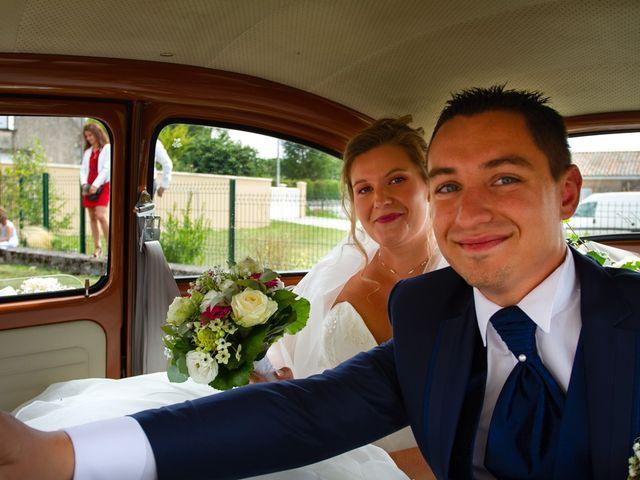 Le mariage de Guillaume et Melanie à Thénac, Charente Maritime 32