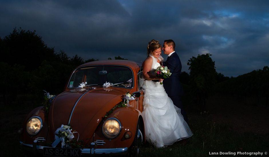 Le mariage de Guillaume et Melanie à Thénac, Charente Maritime