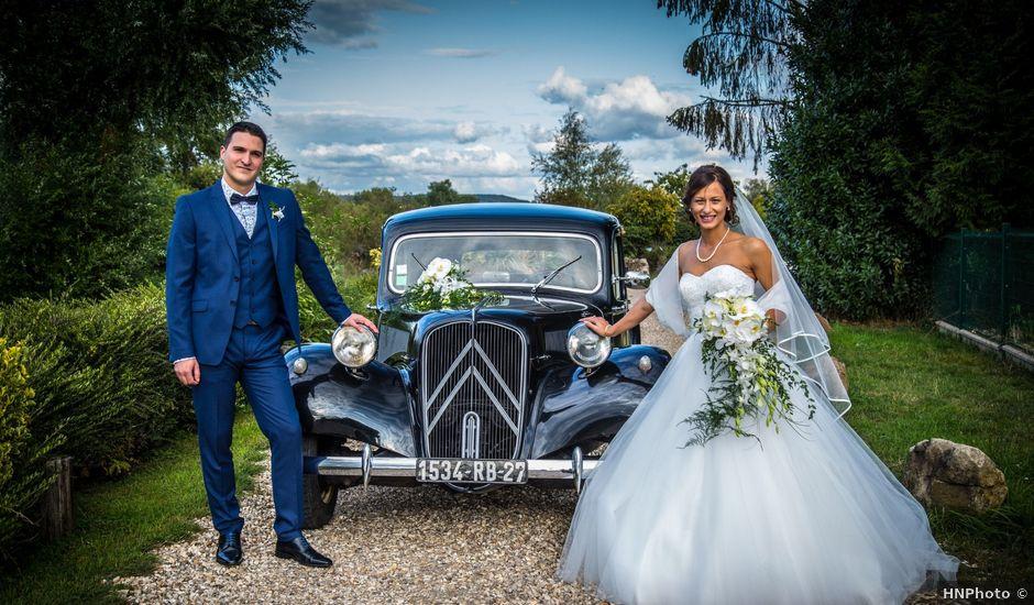 Le mariage de Guillaume et Solange à Criquebeuf-sur-Seine, Eure