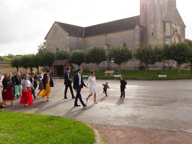 Le mariage de Benoît et Aurélie à Fouchères, Aube 7