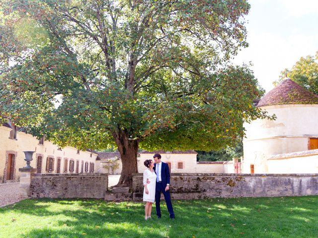 Le mariage de Benoît et Aurélie à Fouchères, Aube 11