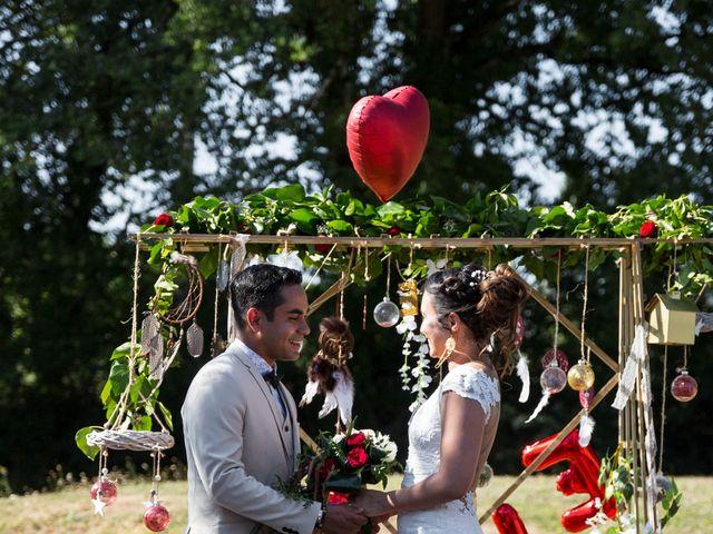 Le mariage de Jimmy et Estelle à Lusignan, Vienne 42
