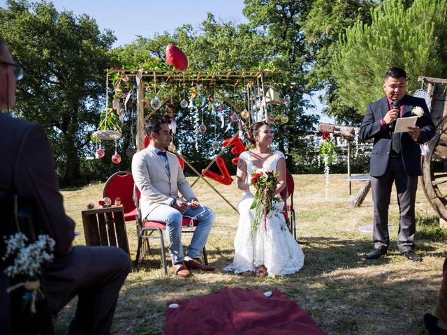 Le mariage de Jimmy et Estelle à Lusignan, Vienne 43